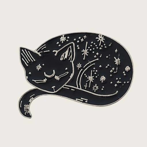 Pin de Gato Corazón Holístico Tienda